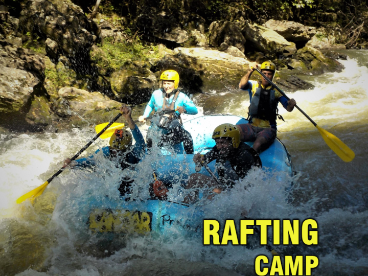 World's Toughest Race Rafting Trainning